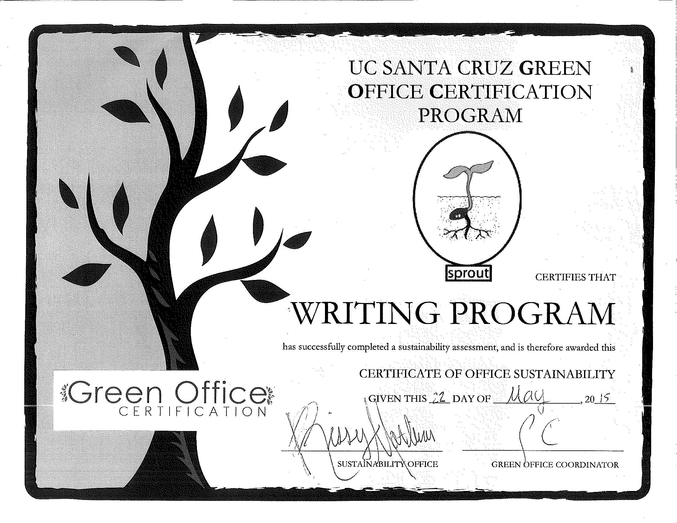 Green certification 1betcityfo Choice Image